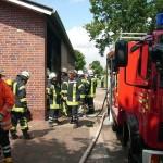 20.07.2013 - Betriebsgebäudebrand Hookswieke - 01
