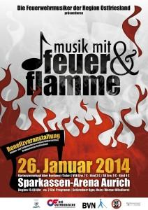 Musik mit Feuer und Flamme