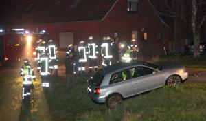 Unfall in der Georgswieke Foto: Frank Loger